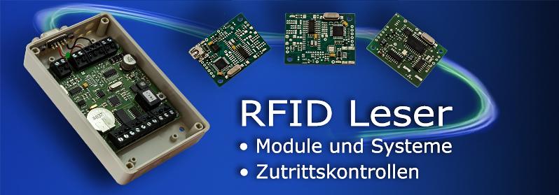 RFID Zutrittskontrollen und Leser